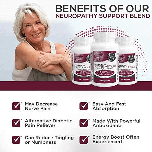 Benefits of our neuropathy support blend